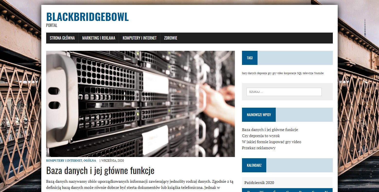 Blackbridgebowl Portal